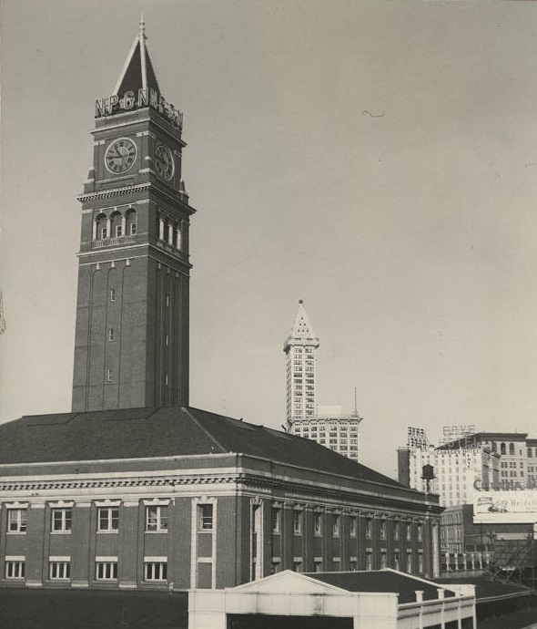 Seattle tallest building - King Street Station Tower 3